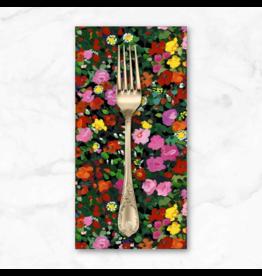 PD's Michael Miller Collection Eat, Sleep, Garden, Garden Party in Multi, Dinner Napkin