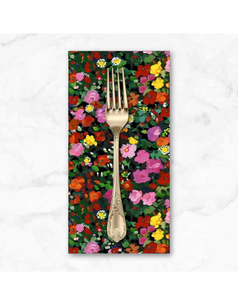 PD's Michael Miller Collection Eat, Sleep, Garden, Garden Party in Multi, Dinner Napkin