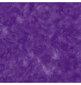 Michael Miller Eat, Sleep, Garden, Hand Sprayed in Plum, Fabric Half-Yards CX9062