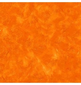 Michael Miller Eat, Sleep, Garden, Hand Sprayed in Orange, Fabric Half-Yards CX9062