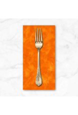 PD's Michael Miller Collection Eat, Sleep, Garden, Hand Sprayed in Orange, Dinner Napkin