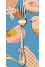 PD's Melody Miller Collection Ruby Star Society, Social Birds in Blue, Dinner Napkin