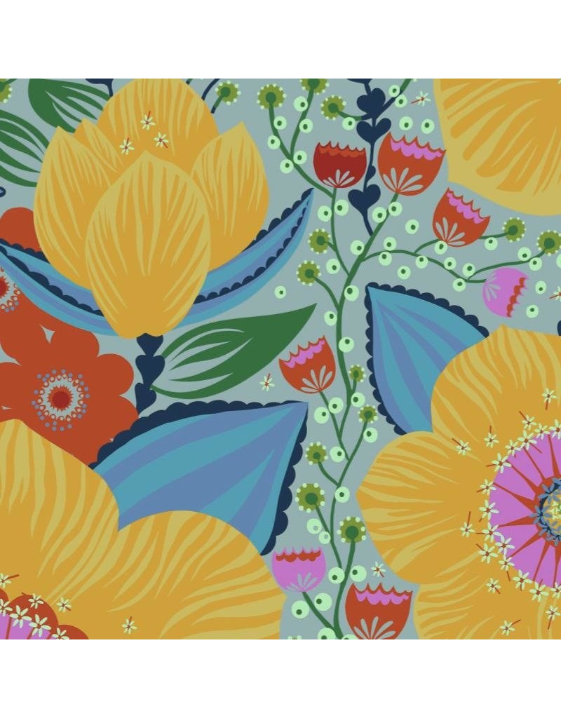 Anna Maria Horner Hindsight, Honorable Mention in Gold, Fabric Half-Yards PWAH144