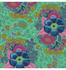 Anna Maria Horner Hindsight, Piecework in Sea, Fabric Half-Yards PWAH145