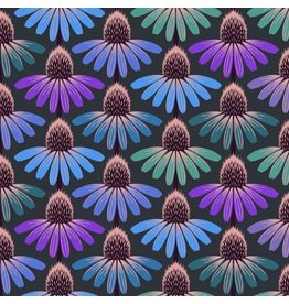 Anna Maria Horner Hindsight, Echinacea Glow in Amethyst, Fabric Half-Yards PWAH149