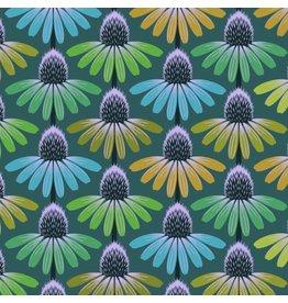 Anna Maria Horner Hindsight, Echinacea Glow in Algea, Fabric Half-Yards PWAH149