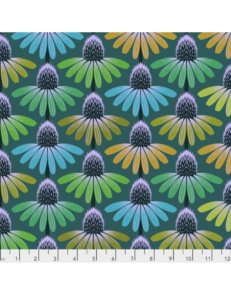 Anna Maria Horner Hindsight, Echinacea Glow in Algea, Fabric Half-Yards PWAH149