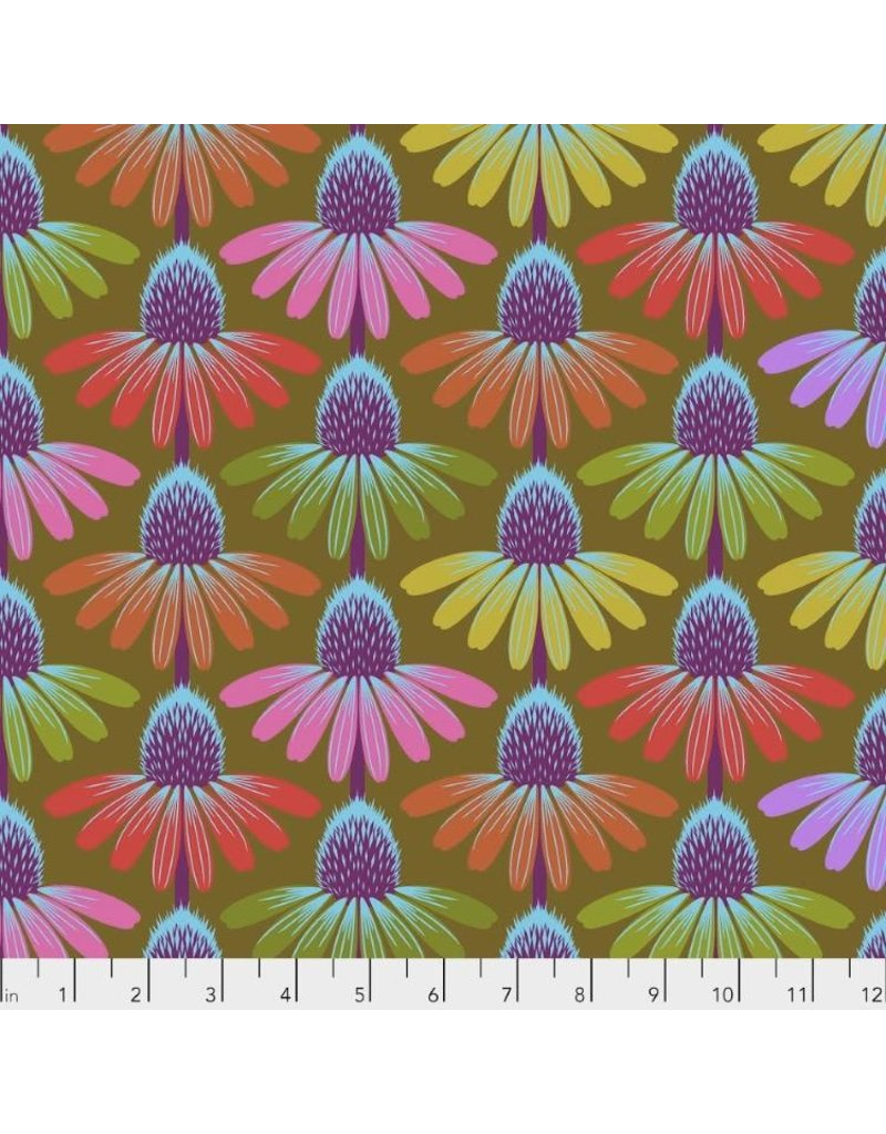 PD's Anna Maria Horner Collection Hindsight, Echinacea Glow in Autumn, Dinner Napkin