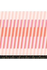 Melody Miller Ruby Star Society, Clementine, Fruity Stripes in Sunshine, Fabric Half-Yards  RS0008 18
