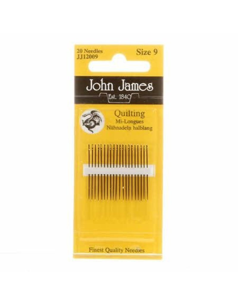 Quilting Needles size 9, 20ct., John James