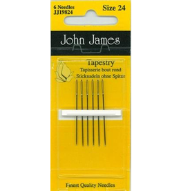 John James, Tapestry Needles size 24