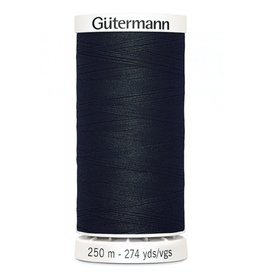 Gutermann Gutermann Thread, 250M-010 Black, Sew-All Polyester All Purpose Thread, 250m/273yds