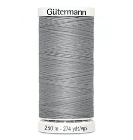 Gutermann Gutermann Thread, 250M-102 Light Grey, Sew-All Polyester All Purpose Thread, 250m/273yds