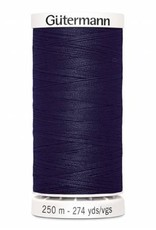Gutermann Gutermann Thread, 250M-278 Midnight Navy Blue, Sew-All Polyester All Purpose Thread, 250m/273yds