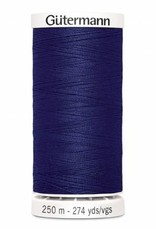 Gutermann Gutermann Thread, 250M-266 Bright Navy Blue, Sew-All Polyester All Purpose Thread, 250m/273yds