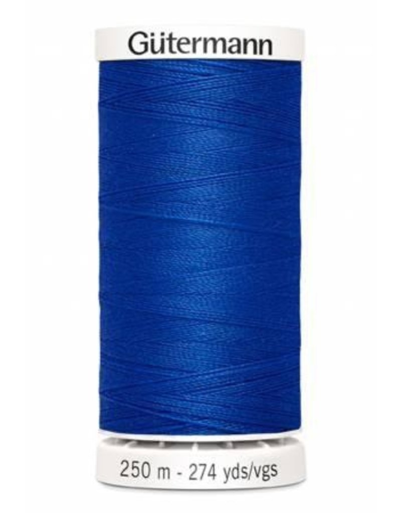 Gutermann Gutermann Thread, 250M-251 Cobalt Blue, Sew-All Polyester All Purpose Thread, 250m/273yds