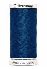 Gutermann Gutermann Thread, 250M-241 Atlantis Blue, Sew-All Polyester All Purpose Thread, 250m/273yds