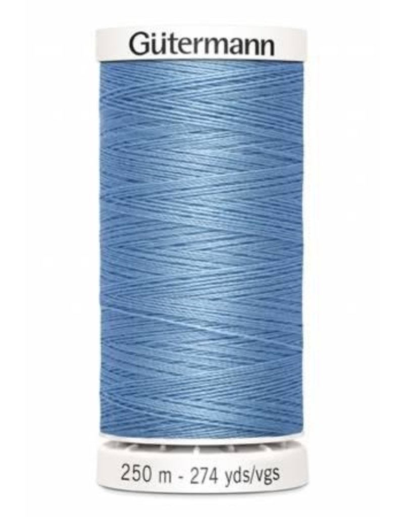 Gutermann Gutermann Thread, 250M-227 Copenhagen Blue, Sew-All Polyester All Purpose Thread, 250m/273yds