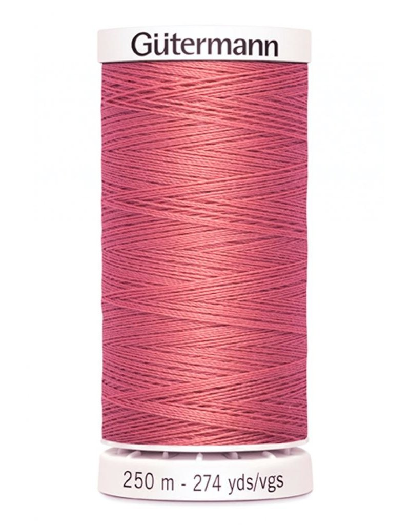 Gutermann Gutermann Thread, 250M-330 Coral Pink, Sew-All Polyester All Purpose Thread, 250m/273yds