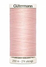 Gutermann Gutermann Thread, 250M-305 Petal Pink, Sew-All Polyester All Purpose Thread, 250m/273yds