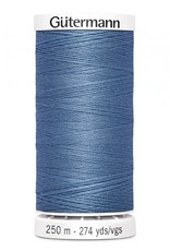 Gutermann Gutermann Thread, 250M-215 French Blue, Sew-All Polyester All Purpose Thread, 250m/273yds