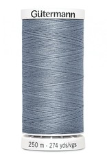 Gutermann Gutermann Thread, 250M-224 <br /> Tile Blue, Sew-All Polyester All Purpose Thread, 250m/273yds