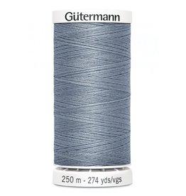Gutermann Gutermann Thread, 250M-224 <br /> Tile Blue, Sew-All Polyester All Purpose Thread, 250m/273yds