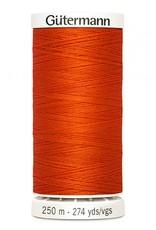 Gutermann Gutermann Thread, 250M-400 Poppy Orange, Sew-All Polyester All Purpose Thread, 250m/273yds