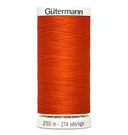 Gutermann Gutermann Thread, 250M-400 Poppy Orange, Sew-All Polyester All Purpose Thread, 250m/273yds