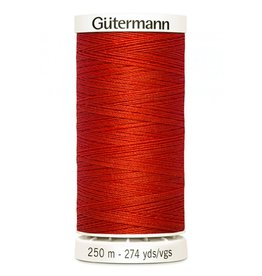 Gutermann Gutermann Thread, 250M-405 Flame Red, Sew-All Polyester All Purpose Thread, 250m/273yds