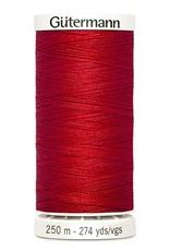 Gutermann Gutermann Thread, 250M-410 Scarlet Red, Sew-All Polyester All Purpose Thread, 250m/273yds