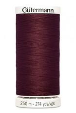 Gutermann Gutermann Thread, 250M-450 Burgundy, Sew-All Polyester All Purpose Thread, 250m/273yds