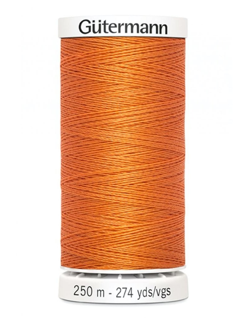 Gutermann Gutermann Thread, 250M-460 Apricot, Sew-All Polyester All Purpose Thread, 250m/273yds