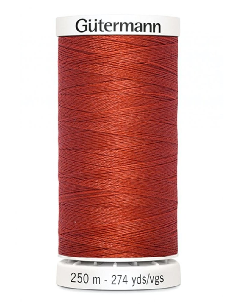 Gutermann Gutermann Thread, 250M-476 Copper, Sew-All Polyester All Purpose Thread, 250m/273yds
