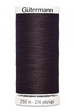 Gutermann Gutermann Thread, 250M-593 Seal Brown, Sew-All Polyester All Purpose Thread, 250m/273yds