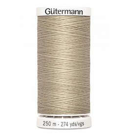 Gutermann Gutermann Thread, 250M-506 Khaki, Sew-All Polyester All Purpose Thread, 250m/273yds