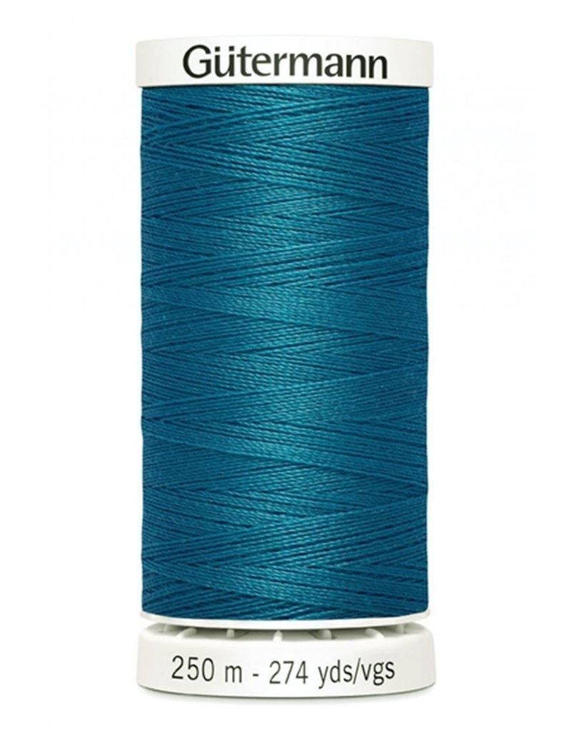 Gutermann Gutermann Thread, 250M-625 Ming Blue, Sew-All Polyester All Purpose Thread, 250m/273yds