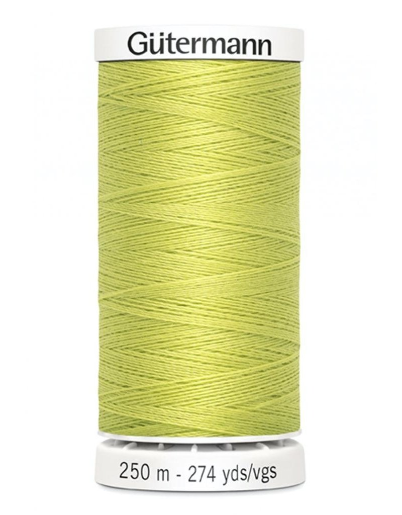 Gutermann Gutermann Thread, 250M-712 Lime Citron, Sew-All Polyester All Purpose Thread, 250m/273yds