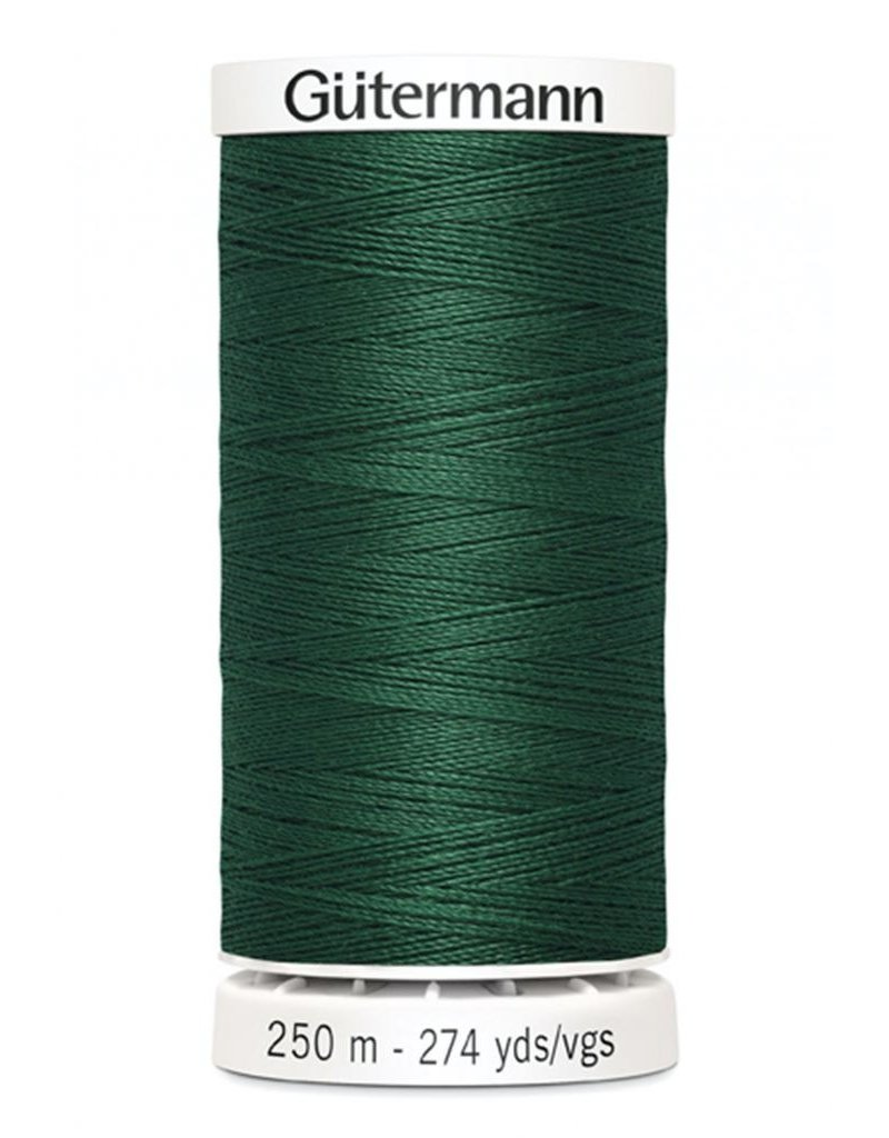 Gutermann Gutermann Thread, 250M-788 Dark Green, Sew-All Polyester All Purpose Thread, 250m/273yds