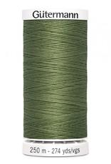 Gutermann Gutermann Thread, 250M-776 Moss Green, Sew-All Polyester All Purpose Thread, 250m/273yds