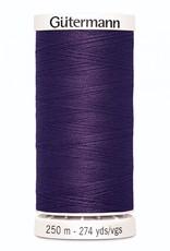 Gutermann Gutermann Thread, 250M-941 Dark Plum, Sew-All Polyester All Purpose Thread, 250m/273yds