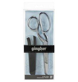 """ON ORDER-Gingher 8"""" Right-Hand Knife-edge Dressmaker Shears Scissors"""