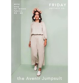 Friday Pattern Company Friday Pattern Co's Avenir Jumpsuit Pattern
