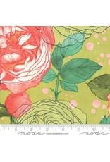 Moda Abby Rose, Cabbage Rose in Greenery, Fabric Half-Yards 48670 14