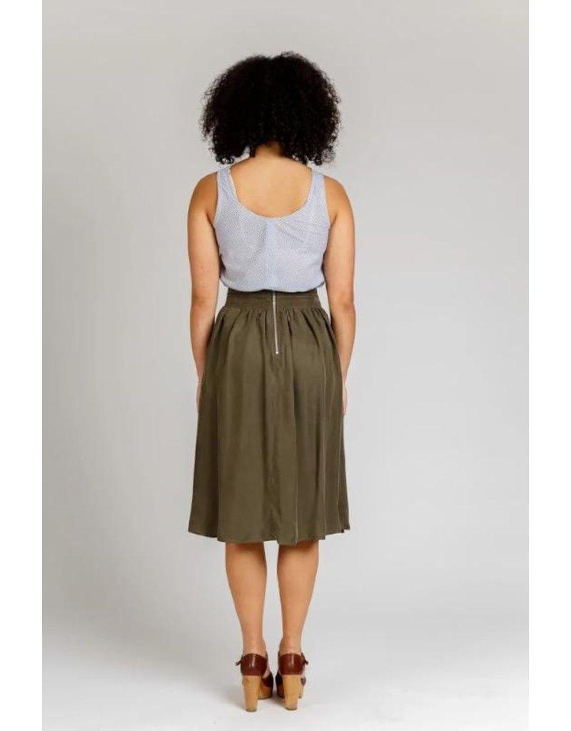 Megan Nielsen Megan Nielsen's Brumby Skirt, Paper Pattern MN2204