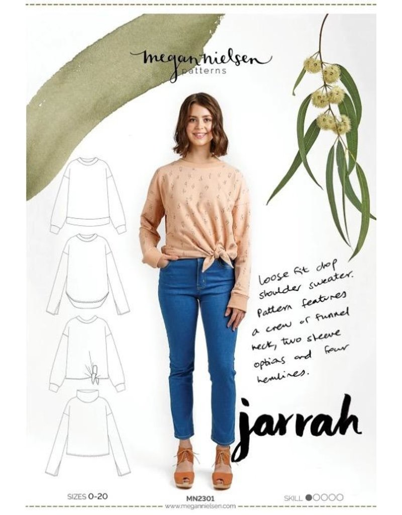 Megan Nielsen Megan Nielsen's Jarrah Top, Paper Pattern MN2301