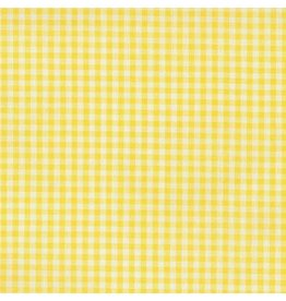 "Robert Kaufman Carolina Gingham, 1/8"" in Yellow, Lightweight Yarn Dyed Woven, Fabric Half-Yards P-5689-14"