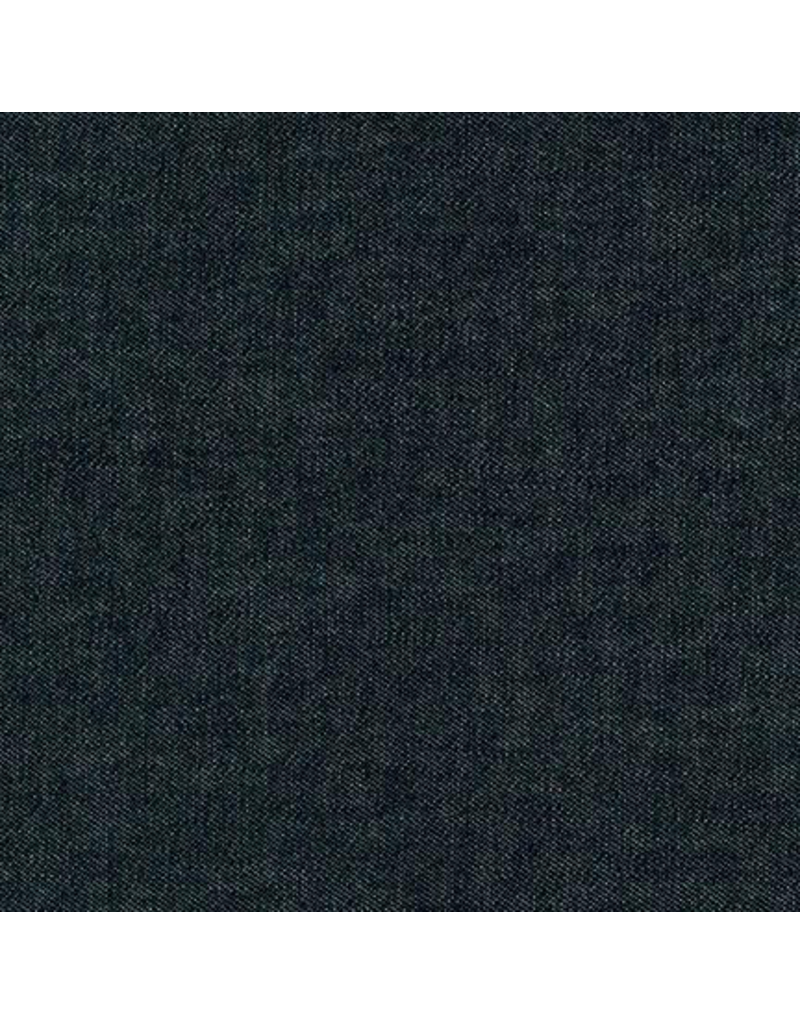 Robert Kaufman House of Denim Indigo Denim 8oz. in Black Washed,  Fabric Half-Yards I013-1604