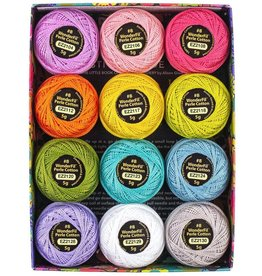 Alison Glass Alison Glass Eleganza Palette #3, Sun, Perle (Pearl) Cotton, Set of 12 Size 8 from WonderFil