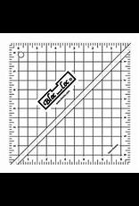 """Bloc Loc Half Square Triangle Ruler 6.5"""" HST 65"""
